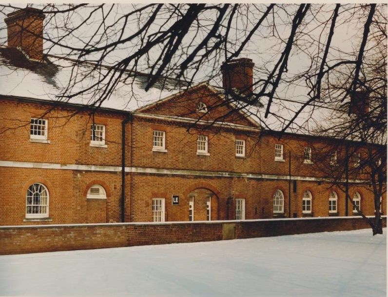 Milldam in the Snow