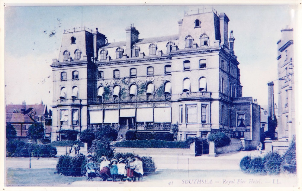 Rees as Royal Pier Hotel circa 1890