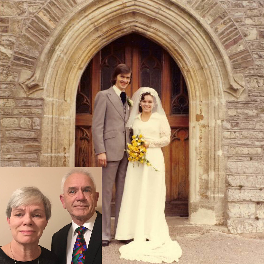 Rev. Philip and Carol Morgan - ...met in 1971 whilst both studying Geography and Geology at Portsmouth Polytechnic. They married in 1974 and moved to the USA in 1984 with their 3 children. Philip and Carol will be celebrating their 44th wedding anniversary in September!