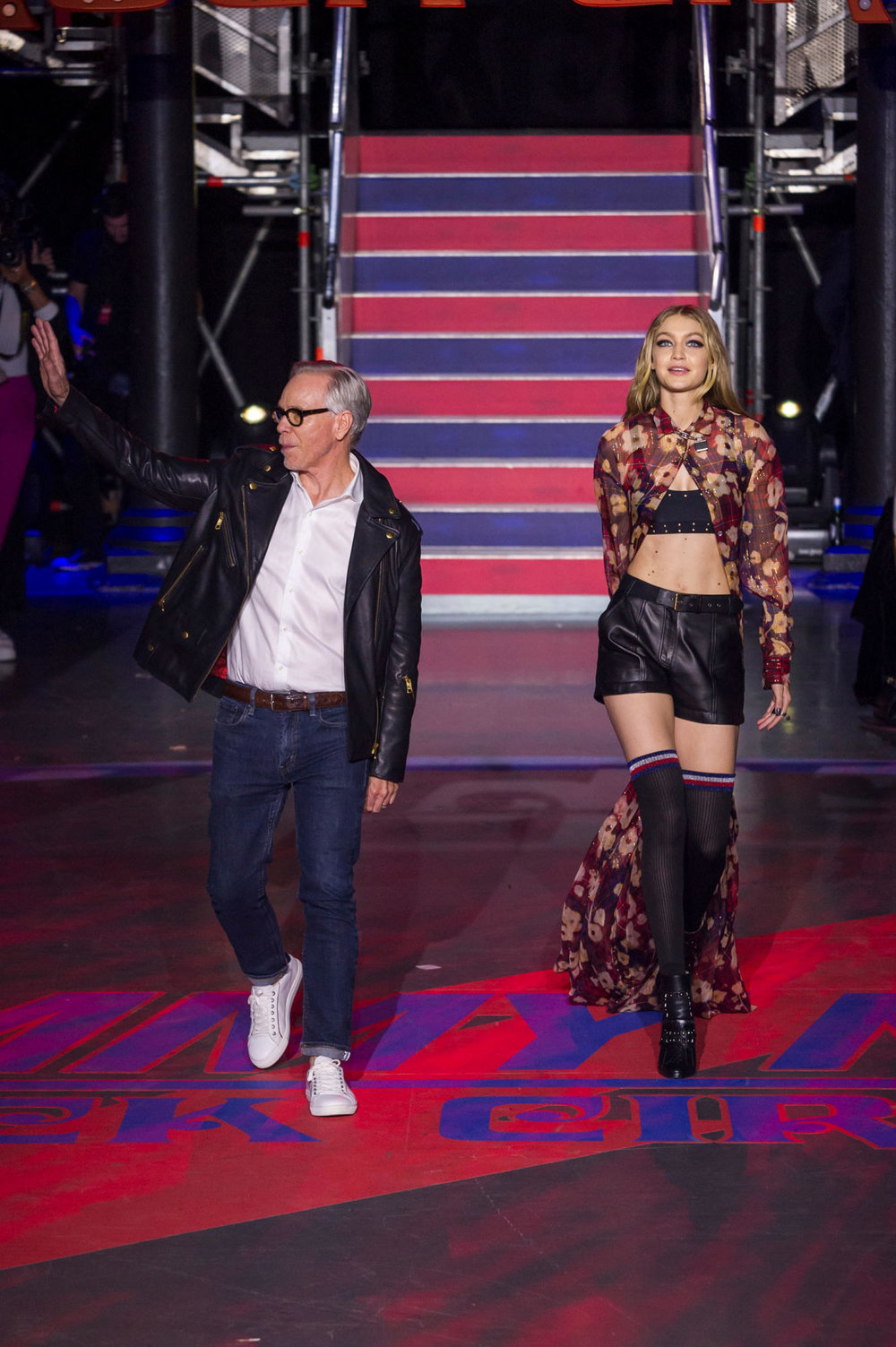 True Vintage worked with Tommy Hilfiger on a pop up shop that featured at London Fashion Week