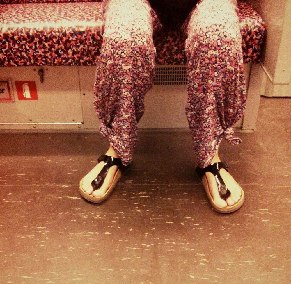 'Today, I will dress like ... the metro!'