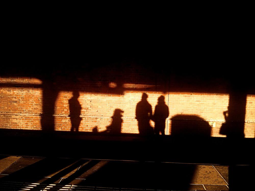 Dec 9, 2014: S-Bahn-Leben.