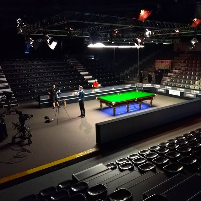 #worldsnooker #europeanmasters #eurosport #lommel