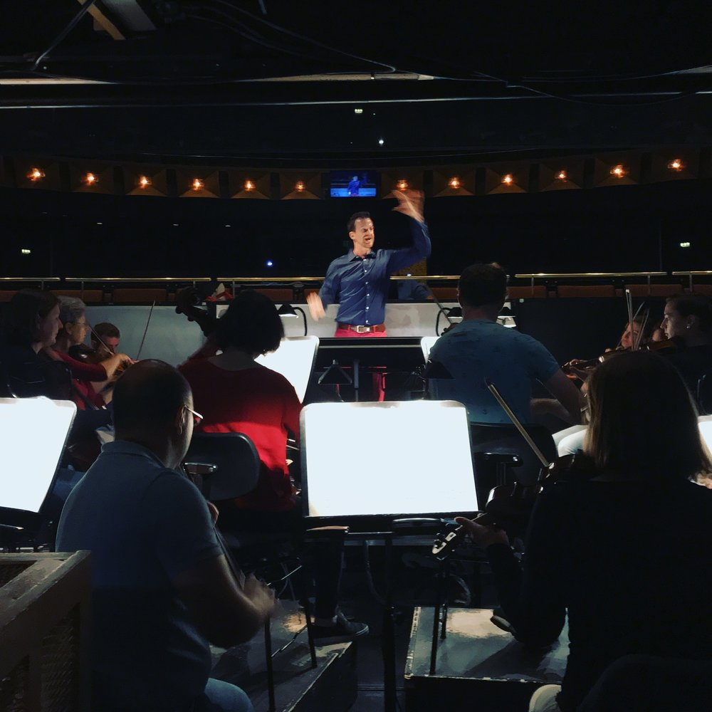 Staatsoper Hannover, Stage and Orchestra Rehearsal of Die Zauberflöte, 2018