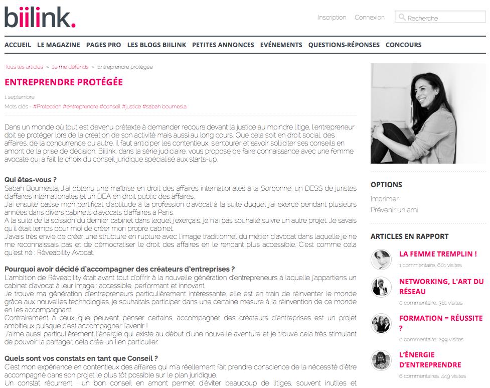 interview biilink