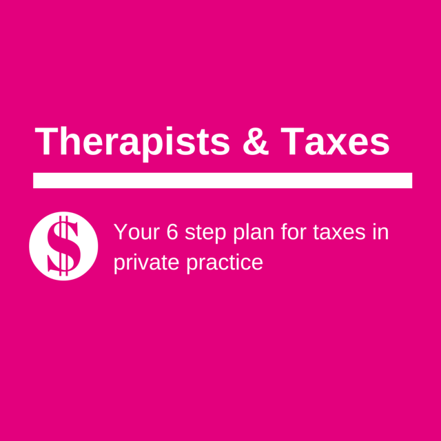 Planning for Taxes in Private Practice