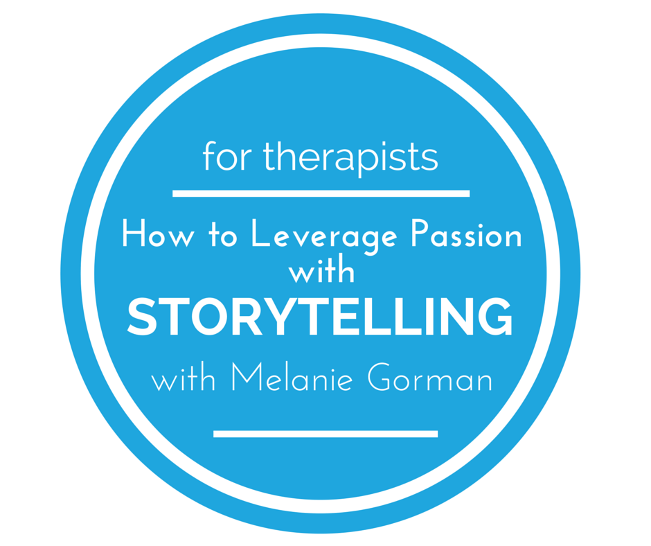 Learn how and why to integrate storytelling into your therapy website.