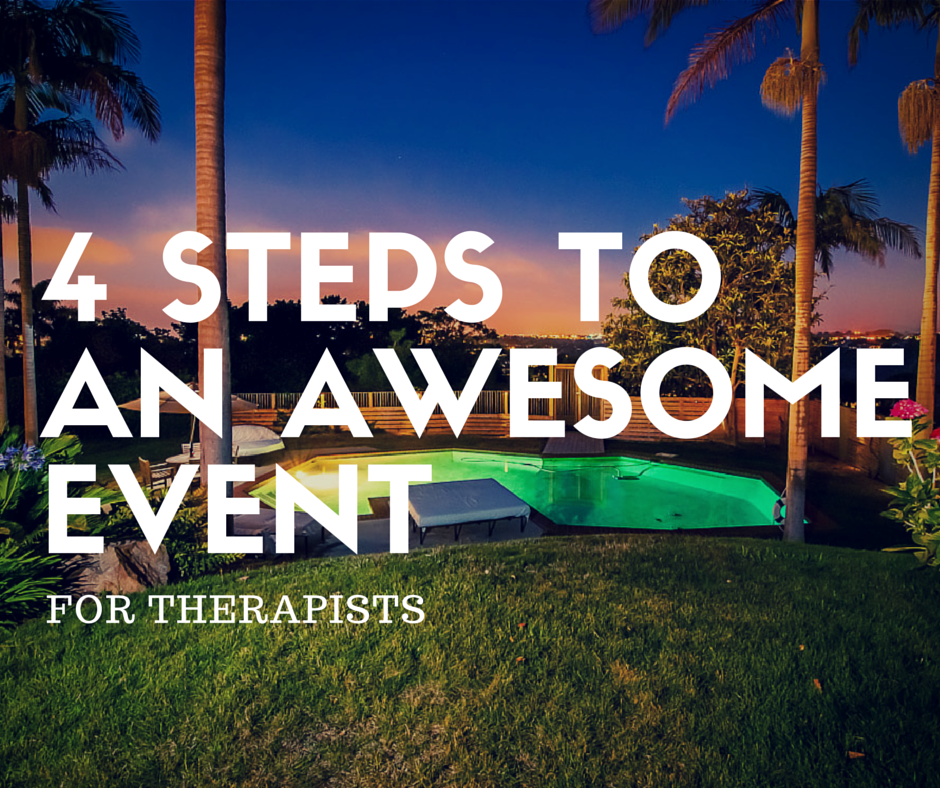 Events for Therapists