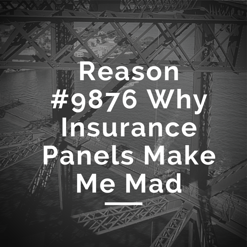 Getting on insurance panels