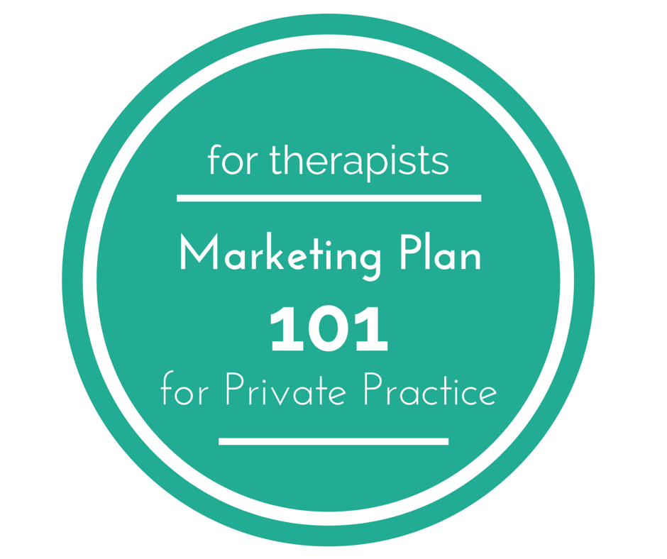 Marketing Plan for Therapists