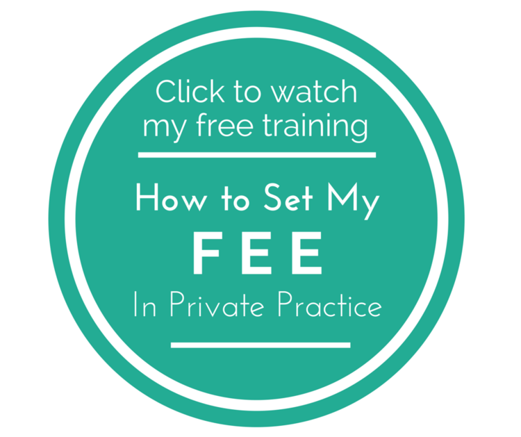 How to set fees in private practice