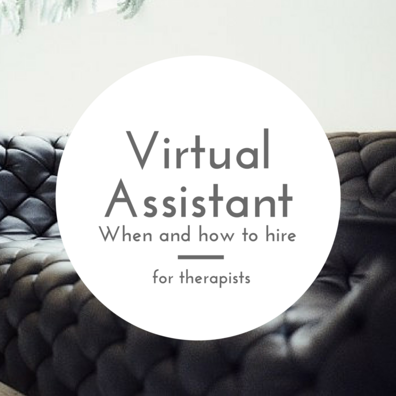Virtual Assistants for Therapists
