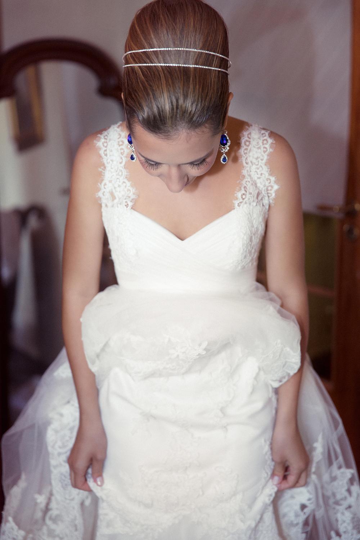 Bröllopsfotograf i Stockholm brud