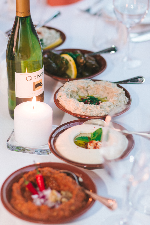 Bröllopsfotograf i Stockholm mat