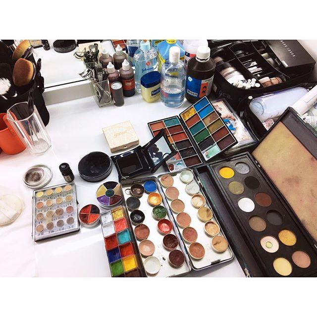 Fun time---:-) #photoshoot #mua #makeupartist #makeup #撮影  #makeupforever