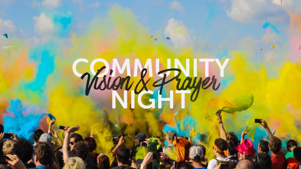 Community Vision and Prayer Night