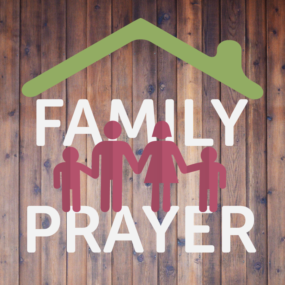 - We love seeing families equipped to pray together! Join us in the Prayer Room every Monday from 4.30pm for our Family Prayerwatches and Family Devotionals.