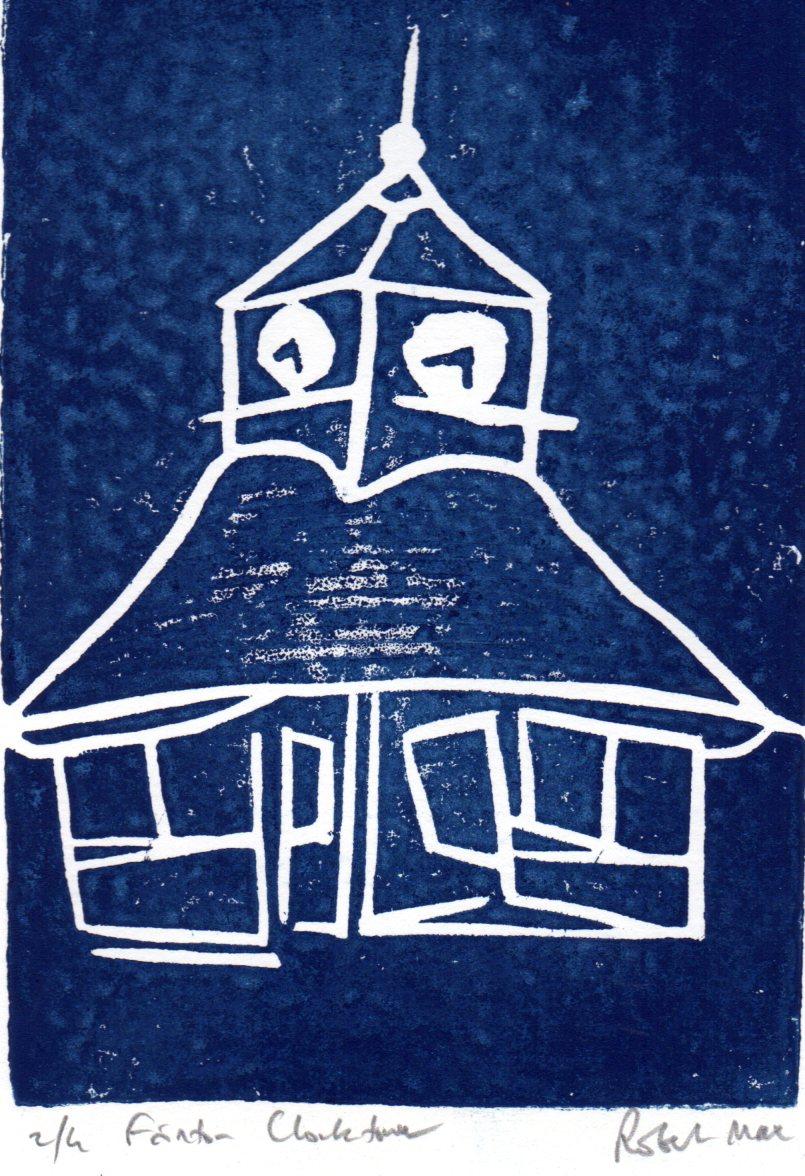 Linocut by Robert Max