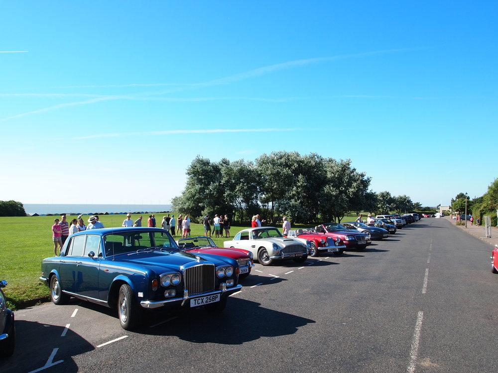 Frinton Classic cars Breakfast Club