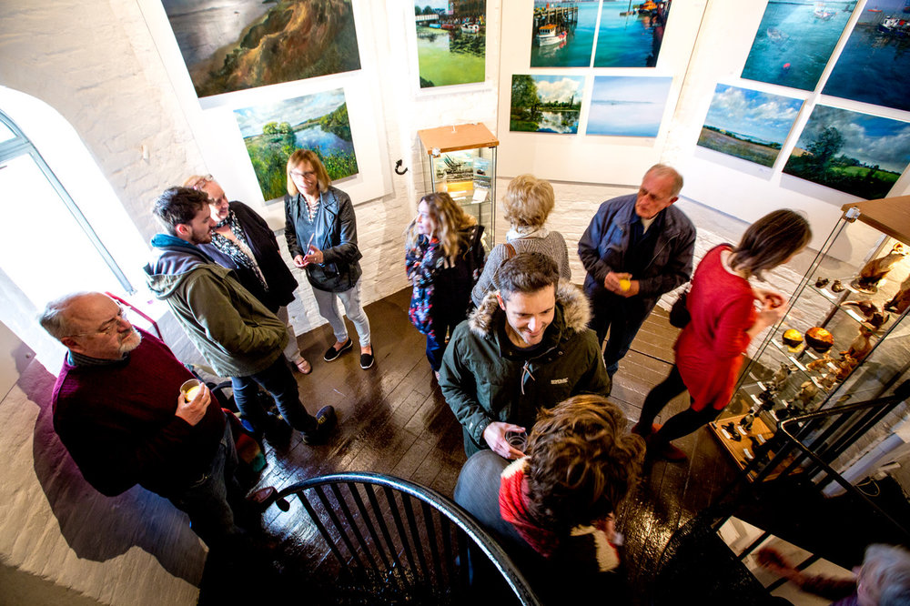 Visiting the Naze Gallery