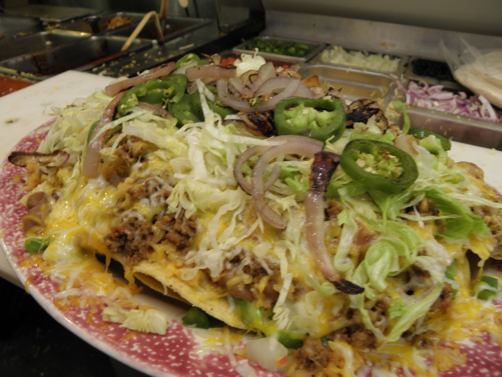 Our viva zapata nachos have that extra kick to them