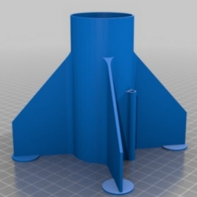 Mouse Eared Rocket Fincan (Tbuser)