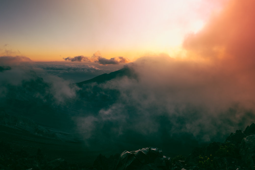 Maui - Haleakalā Crater