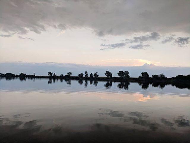 Lake Marshall sunset