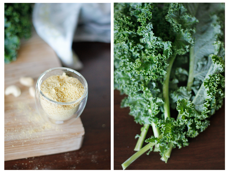 kale chips nutritional yeast cashews