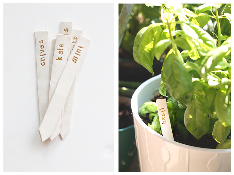DIY Garden Markers Tutorial