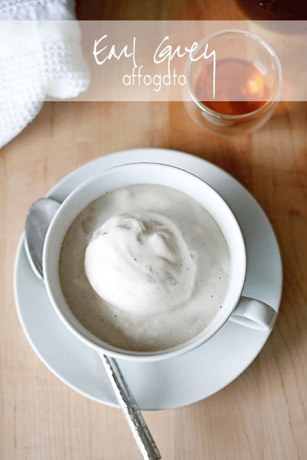 Earl Grey Affogato Recipe from Wellnesting