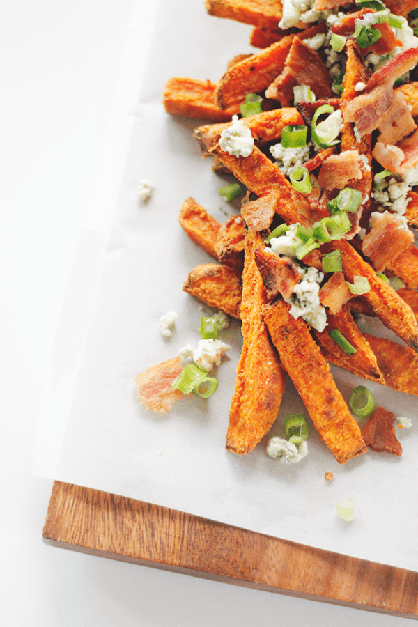 Loaded Sweet Potato Fries Recipe