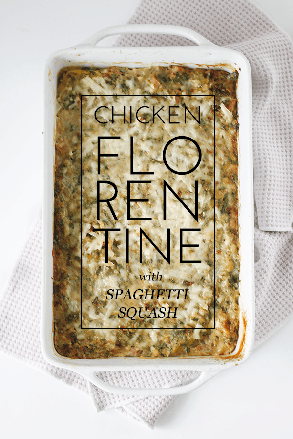 Chicken Florentine Recipe