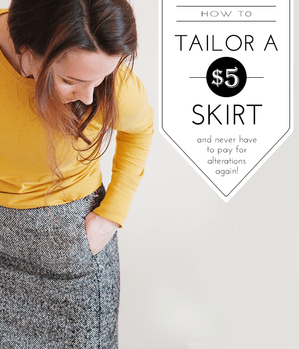 8fe1118b86 How to Tailor a Skirt — Wellnesting | Creating a Happy Handmade Home