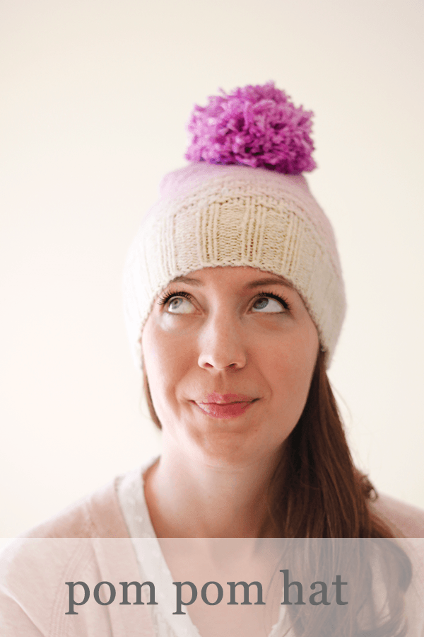 How to Make a Hat from an OId Sweater