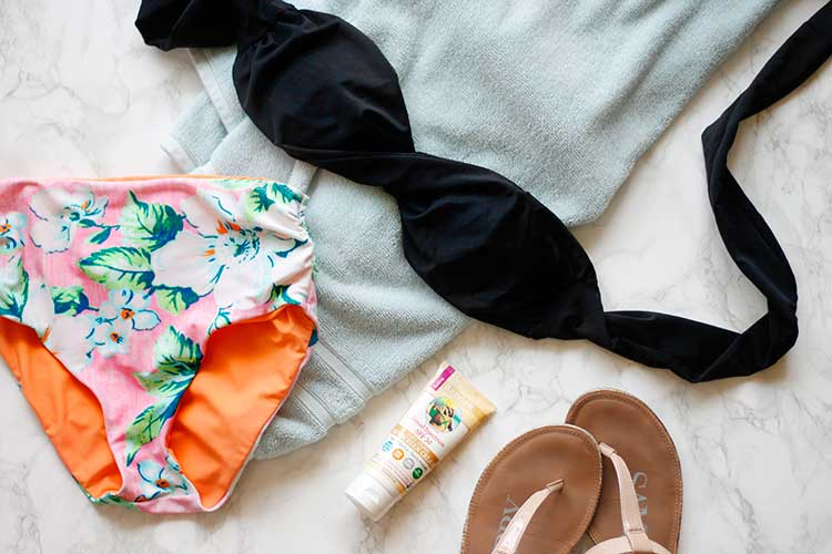 How to make a DIY bikini top