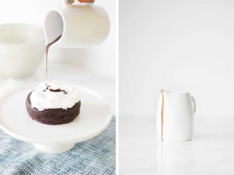 Chocolate Cake for One | Wellnesting