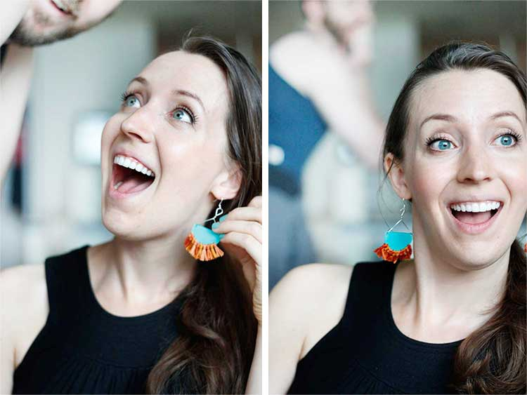 Tribal Earrings | Wellnesting
