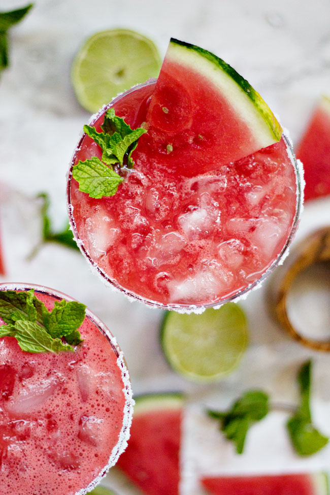 Watermelon Agua Fresca Cocktail Recipe