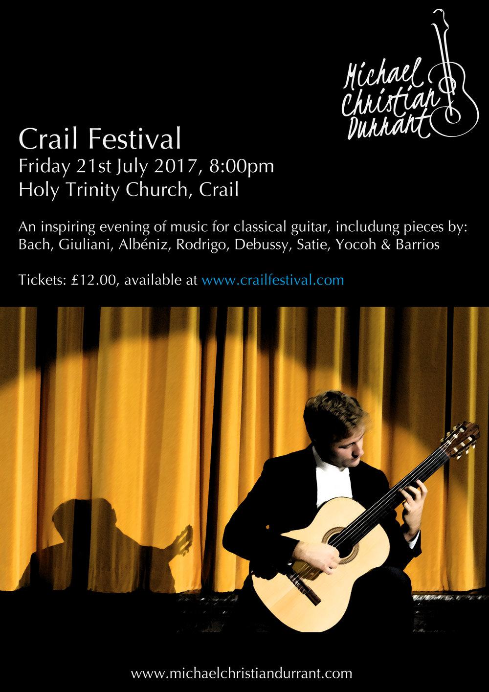 Crail Festival, Friday 21st July 2017