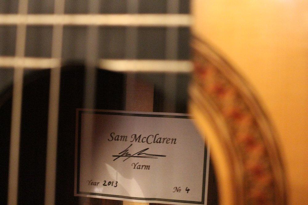 Sam McClaren 2013 (No. 4) - Image 4.JPG