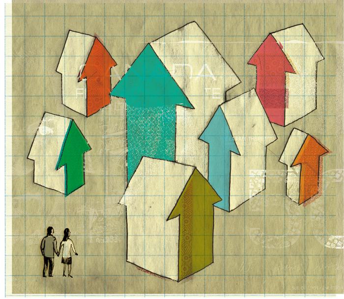 La difficulté pour les jeunes couple d'acheter une première maison avec les prix élevés. / How young couples struggle to buy a first house with the prices always going up.   Client : The Financial Post