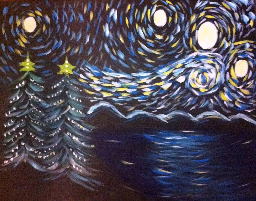 Starry Christmas Night  ck gallery for picture