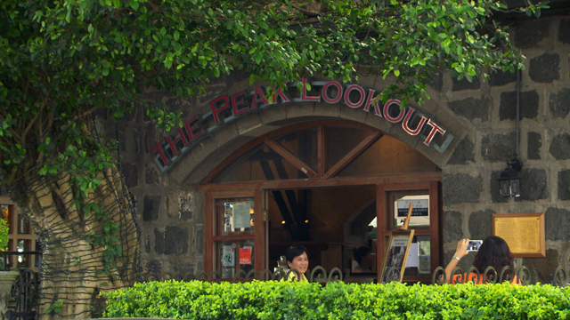 the peak look out restaurant