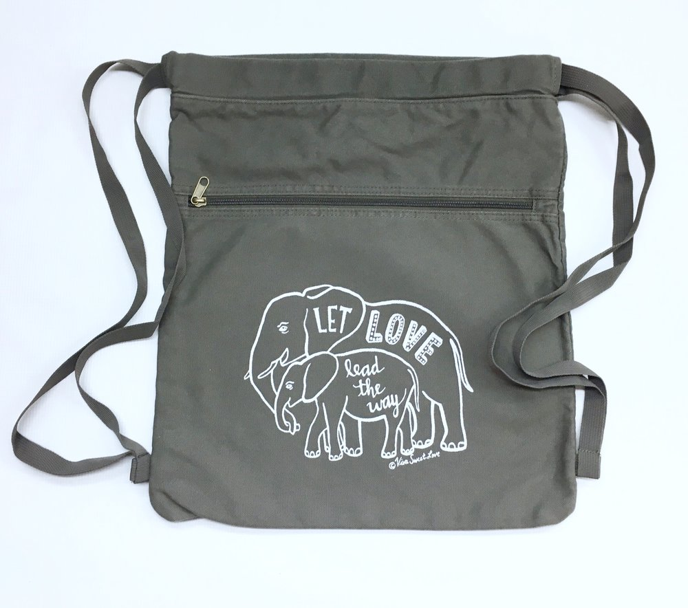 Elephant Love Back Pack