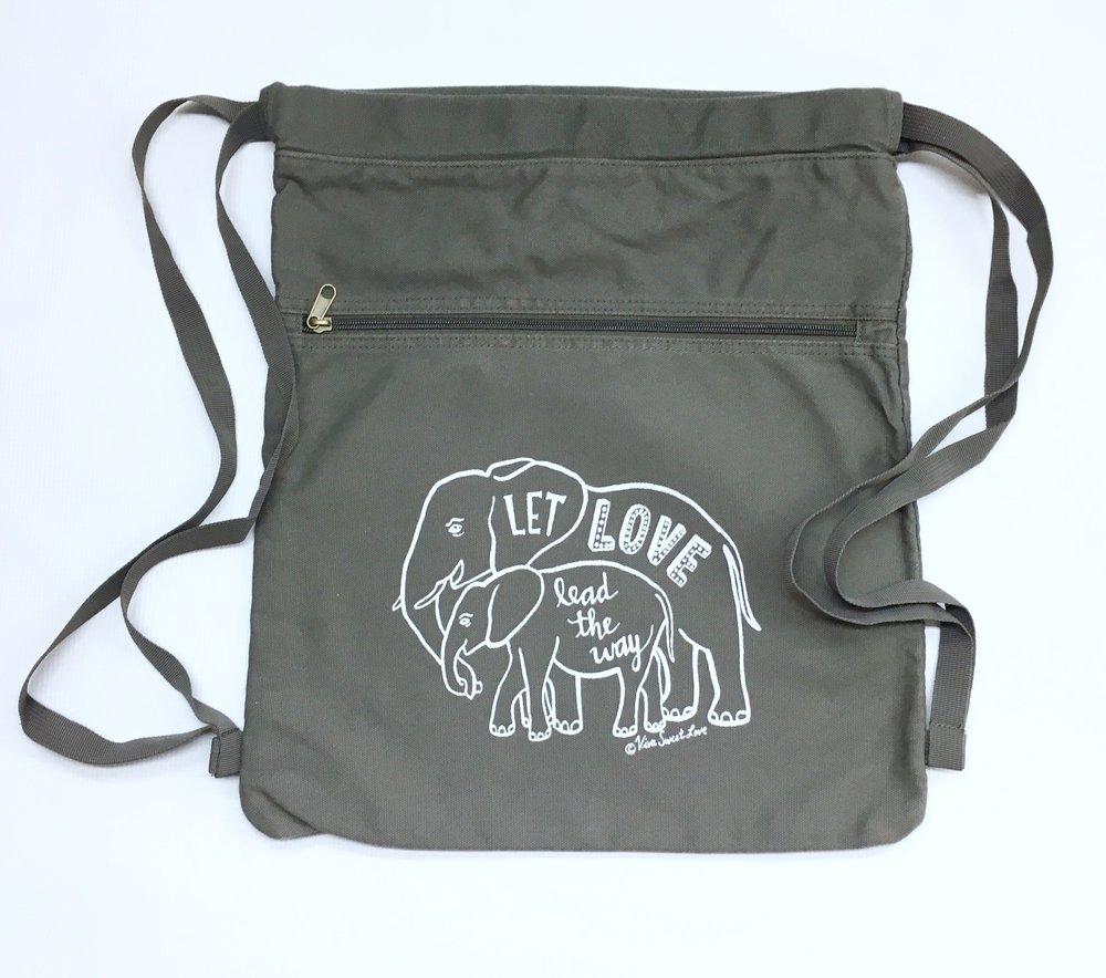 Elephant Love Back Pack