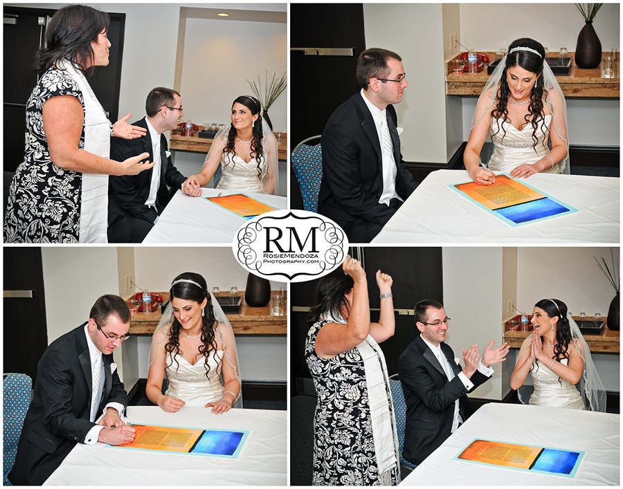 Eden-Roc-Miami-Beach-Wedding-Ketubah-sign-photo