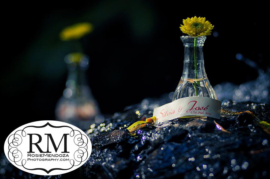 Miami Beach Botanical Gardens Wedding Favors Photo