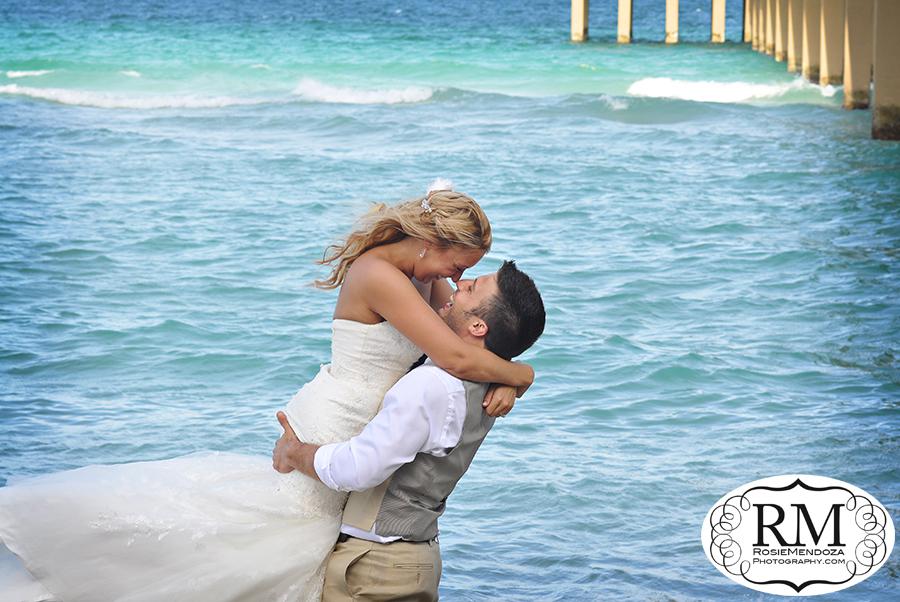 Miami-Beach-Country-Style-Wedding-Portrait-photo