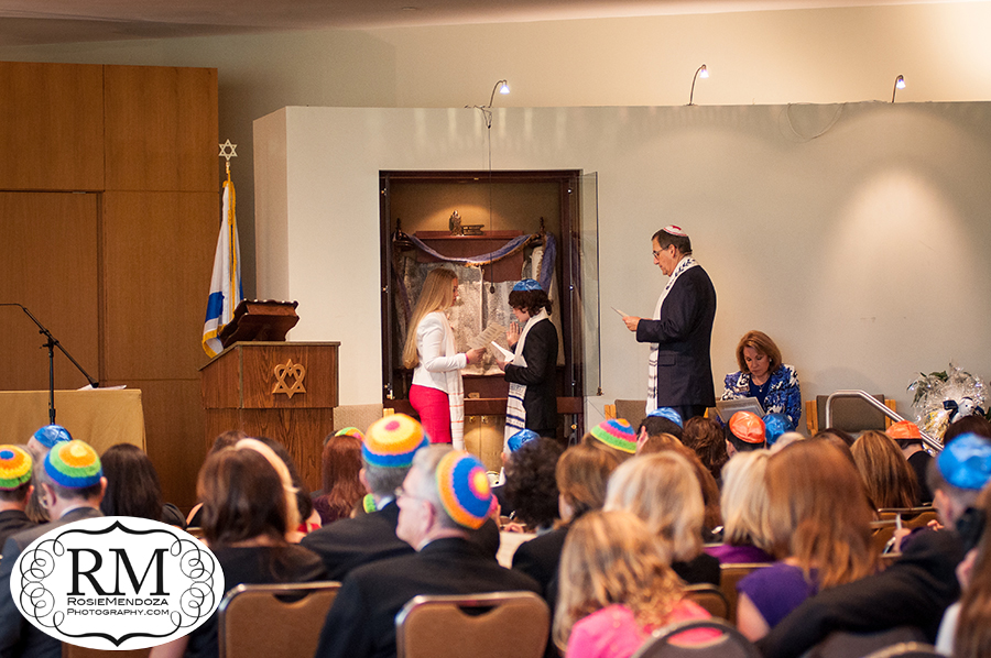 Weston-Temple-Dor-Dorim-Bar-Mitzvah-service-photo